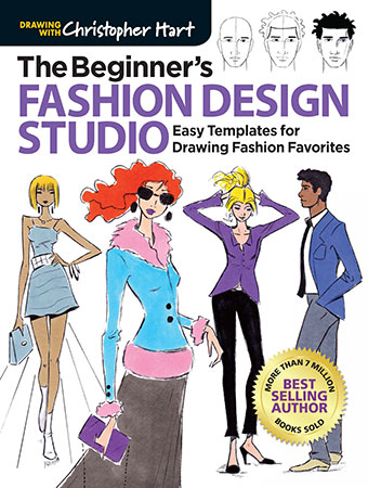 The Beginner's Fashion Design Studio: Easy Templates for Dra