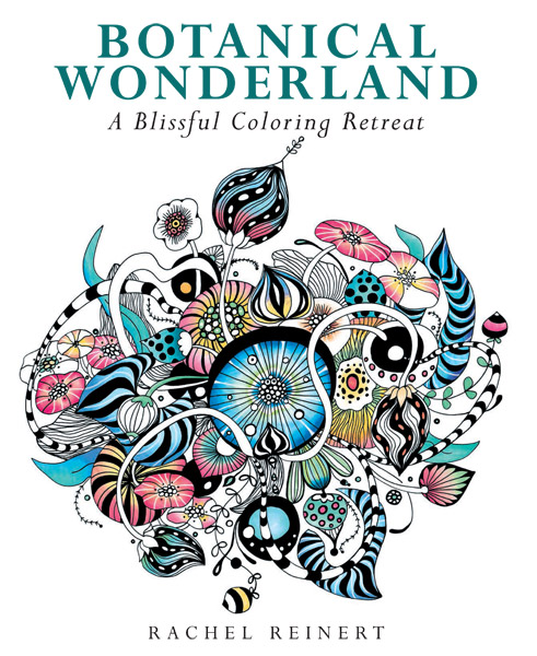 Botanical Wonderland: A Blissful Coloring Retreat